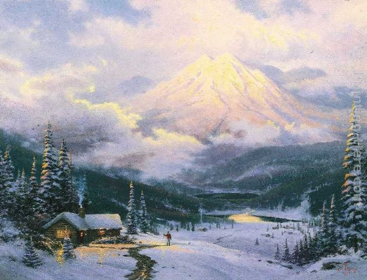 Thomas Kinkade The Warmth Of Home